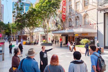 Museum of Brisbane Walking Tours